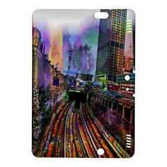 Downtown Chicago Kindle Fire Hdx 8 9  Hardshell Case