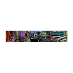 Downtown Chicago Flano Scarf (mini)