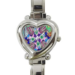 Wallpaper Created From Coloring Book Heart Italian Charm Watch