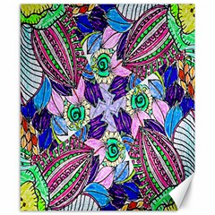 Wallpaper Created From Coloring Book Canvas 8  x 10