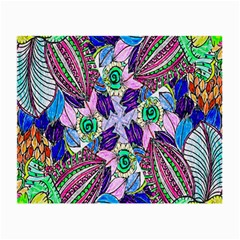 Wallpaper Created From Coloring Book Small Glasses Cloth (2-Side)