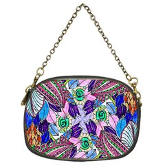 Wallpaper Created From Coloring Book Chain Purses (two Sides)