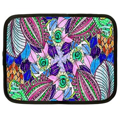 Wallpaper Created From Coloring Book Netbook Case (xxl)