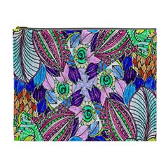 Wallpaper Created From Coloring Book Cosmetic Bag (xl)