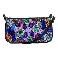Wallpaper Created From Coloring Book Shoulder Clutch Bags