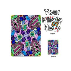 Wallpaper Created From Coloring Book Playing Cards 54 (mini)