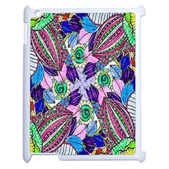 Wallpaper Created From Coloring Book Apple Ipad 2 Case (white)
