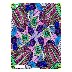 Wallpaper Created From Coloring Book Apple Ipad 3/4 Hardshell Case