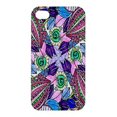 Wallpaper Created From Coloring Book Apple Iphone 4/4s Premium Hardshell Case