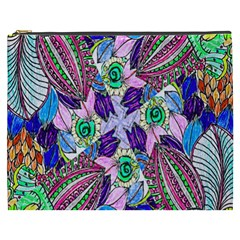 Wallpaper Created From Coloring Book Cosmetic Bag (xxxl)