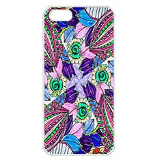 Wallpaper Created From Coloring Book Apple Iphone 5 Seamless Case (white)