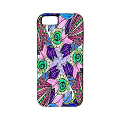 Wallpaper Created From Coloring Book Apple Iphone 5 Classic Hardshell Case (pc+silicone)