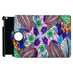Wallpaper Created From Coloring Book Apple Ipad 2 Flip 360 Case