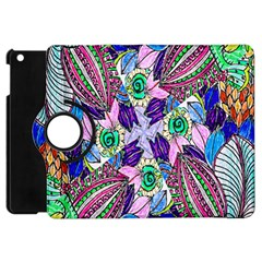 Wallpaper Created From Coloring Book Apple Ipad Mini Flip 360 Case