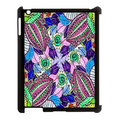 Wallpaper Created From Coloring Book Apple Ipad 3/4 Case (black)