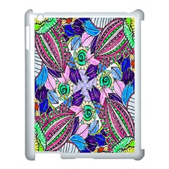 Wallpaper Created From Coloring Book Apple Ipad 3/4 Case (white)