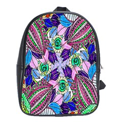 Wallpaper Created From Coloring Book School Bags (xl)