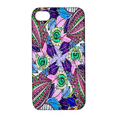 Wallpaper Created From Coloring Book Apple Iphone 4/4s Hardshell Case With Stand
