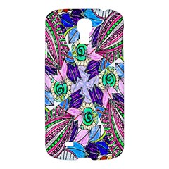 Wallpaper Created From Coloring Book Samsung Galaxy S4 I9500/i9505 Hardshell Case