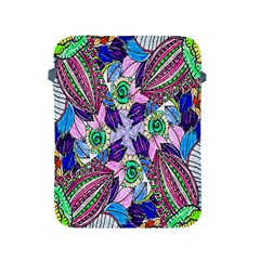 Wallpaper Created From Coloring Book Apple Ipad 2/3/4 Protective Soft Cases