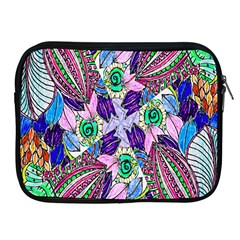 Wallpaper Created From Coloring Book Apple iPad 2/3/4 Zipper Cases