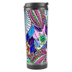 Wallpaper Created From Coloring Book Travel Tumbler