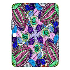 Wallpaper Created From Coloring Book Samsung Galaxy Tab 3 (10 1 ) P5200 Hardshell Case