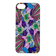 Wallpaper Created From Coloring Book Apple Iphone 5s/ Se Hardshell Case