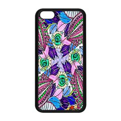Wallpaper Created From Coloring Book Apple Iphone 5c Seamless Case (black)