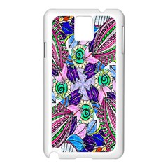 Wallpaper Created From Coloring Book Samsung Galaxy Note 3 N9005 Case (white)