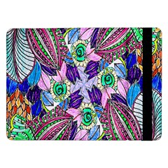 Wallpaper Created From Coloring Book Samsung Galaxy Tab Pro 12 2  Flip Case