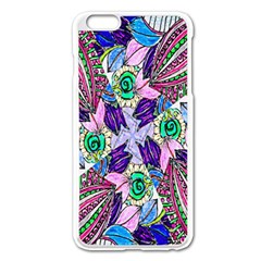 Wallpaper Created From Coloring Book Apple Iphone 6 Plus/6s Plus Enamel White Case
