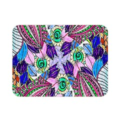 Wallpaper Created From Coloring Book Double Sided Flano Blanket (mini)