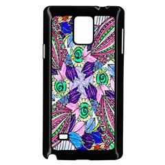 Wallpaper Created From Coloring Book Samsung Galaxy Note 4 Case (black)