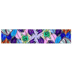 Wallpaper Created From Coloring Book Flano Scarf (small)