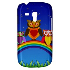 Owls Rainbow Animals Birds Nature Galaxy S3 Mini