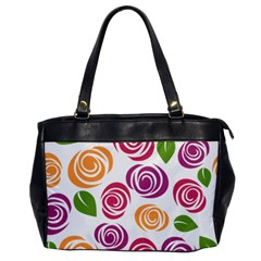 Colorful Seamless Floral Flowers Pattern Wallpaper Background Office Handbags