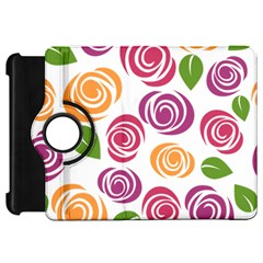 Colorful Seamless Floral Flowers Pattern Wallpaper Background Kindle Fire Hd 7
