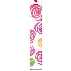 Colorful Seamless Floral Flowers Pattern Wallpaper Background Large Book Marks