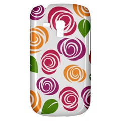 Colorful Seamless Floral Flowers Pattern Wallpaper Background Galaxy S3 Mini