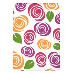Colorful Seamless Floral Flowers Pattern Wallpaper Background Flap Covers (s)