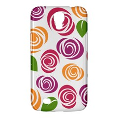 Colorful Seamless Floral Flowers Pattern Wallpaper Background Samsung Galaxy Mega 6 3  I9200 Hardshell Case