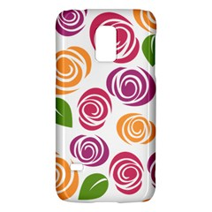Colorful Seamless Floral Flowers Pattern Wallpaper Background Galaxy S5 Mini