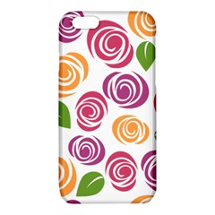 Colorful Seamless Floral Flowers Pattern Wallpaper Background iPhone 6/6S TPU Case