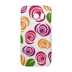 Colorful Seamless Floral Flowers Pattern Wallpaper Background Galaxy S6 Edge