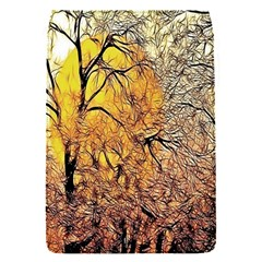 Summer Sun Set Fractal Forest Background Flap Covers (s)