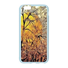 Summer Sun Set Fractal Forest Background Apple Seamless iPhone 6/6S Case (Color)