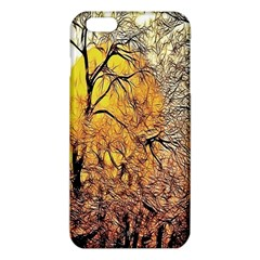 Summer Sun Set Fractal Forest Background Iphone 6 Plus/6s Plus Tpu Case