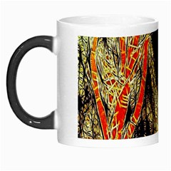 Artistic Effect Fractal Forest Background Morph Mugs