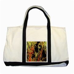 Artistic Effect Fractal Forest Background Two Tone Tote Bag